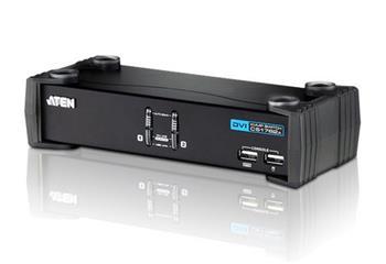 ATEN 2-portový přepínač KVM ™ DVI / Audio USB CS-1762A USB HUB