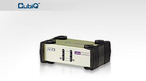ATEN KVM switch CS-82U PS/2+USB 2PC včetně kabeláže 1,2m