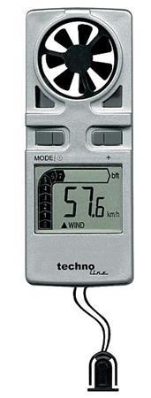 Anemometr ruční EA3010, měřič rychlosti větru