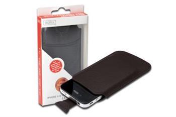 Digitus tenké pouzdro pro Iphone 4 a Ipod touch,12,5x7,9x0,3cm ,HNĚDÉ