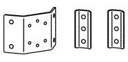 ERGOTRON Interface Bracket Kit, upevňovací příslušenství k ergotron Carts