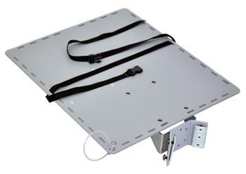 ERGOTRON Large Utility Shelf, příslušenství, police k WorkFit-C and StyleView 31/32-Series Carts