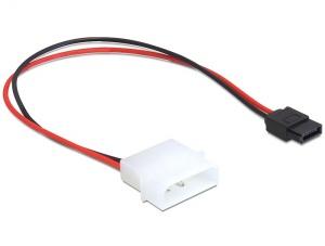 Delock napájecí adaptér IDE MOLEX na SATA napájení 6-pin