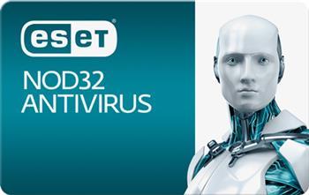 ESET NOD32 Antivirus 1 PC + 2-ročný update - elektronická licencia