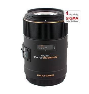 SIGMA 105/2.8 EX DG MACRO OS HSM s bajonetom Canon