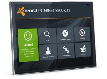 avast! Internet Security, 3 uživatelé, 1 rok
