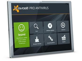 avast! Pro Antivirus, 1 uživatel, 3 roky