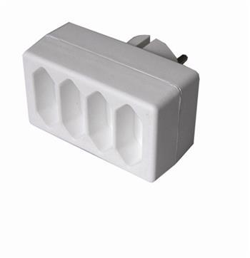 Solid Rozbočovač, 4 x 2,5A, biely