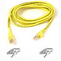 Belkin kabel PATCH UTP CAT5e 1m žlutý, bulk Snagless