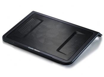 """Coolermaster chladicí ALU podstavec NotePal L1 pro NTB 7-17"""" black, 16cm fan"""