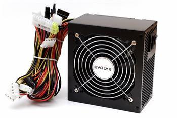 EVOLVEO Zdroj 450W Pulse, ATX 2.2, tichý, 12cm fan, pas. PFC, 2xSATA, PCIe 6, černý, bulk balení