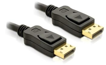 Delock kabel DisplayPort samec na Displayport samec, délka 1m