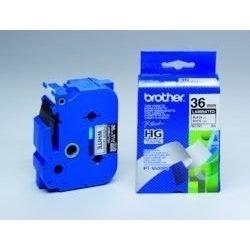 Brother - HGE261V5, bílá / černá, 36 mm (pro PT 9xxx) - balení 5 ks