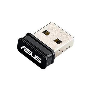 ASUS USB-N10 Nano, Adaptér Wireless-N150 USB Nano, až 150Mbps, EZ WPS