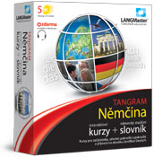 Langmaster Němčina TANGRAM - kurz a slovník