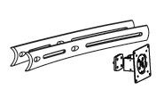 ERGOTRON DS100 Crossbar Extender, prodlužovač