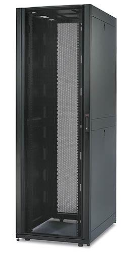 APC NetShelter SX 42UX750X1070 černý, bez boků a s dveřmi