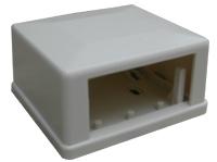 DATACOM modulární box nad omítku pro 1 rámeček