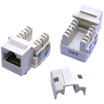UTP Keystone CAT 6 bílý (Dual - mini)