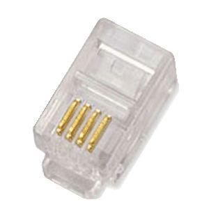 UTP konektor OPTIX RJ10 4P4C balení 100ks