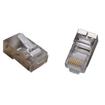 STP konektor OPTIX 8P8C cat.5e Drát bal. 100ks