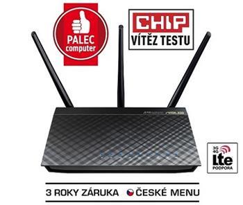 ASUS RT-AC66U B1, Dvoupásmový Wireless-AC1750 Gigabit Router