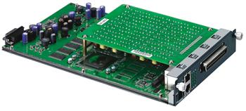 12-port Annex A ADSL2+ line card (over POTS) with splitters built-in f