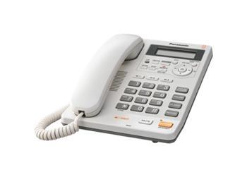 Panasonic KX-TS620FXW - jednolinkový telefon, bílý, digitální záznamník