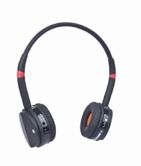 Sluchátka Gembird BHP-001 Bluetooth, černo-červená