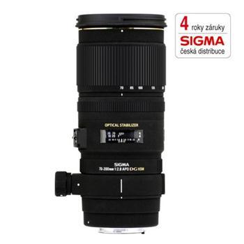 SIGMA 70-200/2.8 APO EX DG OS HSM s bajonetem Nikon