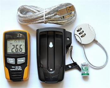 Datalogger GAR195, PC (USB port), LCD
