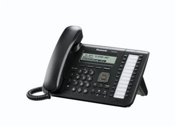 Panasonic KX-UT133NE-B, stolní IP telefon, černý