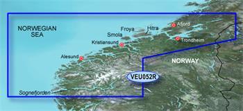 BlueChart G2 Vision Karta - Norsko EU052R / REGULAR