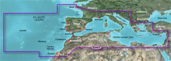 BlueChart G2 - HXEU802X / Stredozemné more a Ibéria / X - LARGE