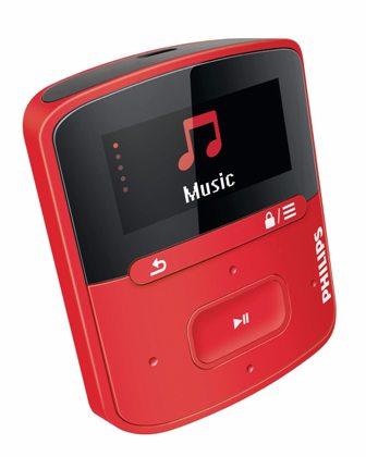Philips SA4RGA04RF/12 Raga MP3 prehrávač s funkciou FullSound™