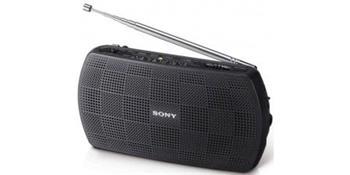 SONY SRF-18 Stereofonní rádio AM/FM - Black