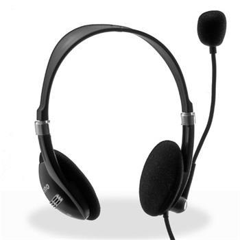 Crono HM-52B Sluchátka s mikrofonem , černá