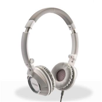 Crono HM-54W Plus skládací Sluchátka s mikrofonem , bílá