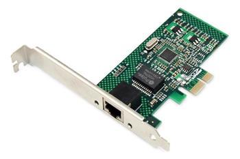 Digitus Gigabit PCI Express Card 10/100/1000 Mbit, 32-bit, Realtek chipset, Incl. Low Profile Bracket Single-Lane PCI Ex
