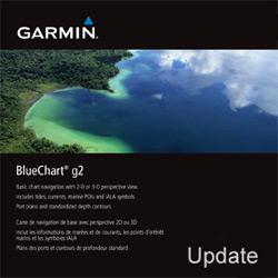 BlueChart G2 - aktualizačná karta
