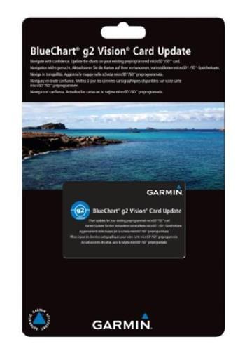 BlueChart G2 Vision - aktualizačná karta