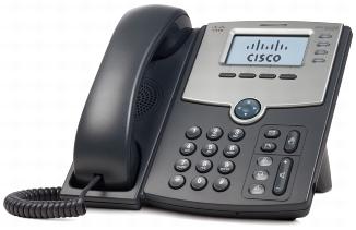Cisco SPA514G - IP telefon, 4 linky, PoE, Gig. port, LCD displej