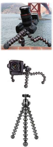 JOBY GorillaPod Focus + Ballhead X - Black/Grey