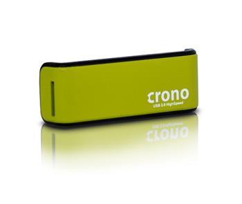 Crono externí čtečka karet, zelená