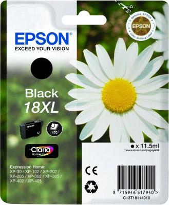 EPSON cartridge T1811 black (sedmikráska) XL