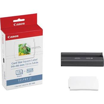 Canon KC-18IS - Ink. paper set - 18 ks