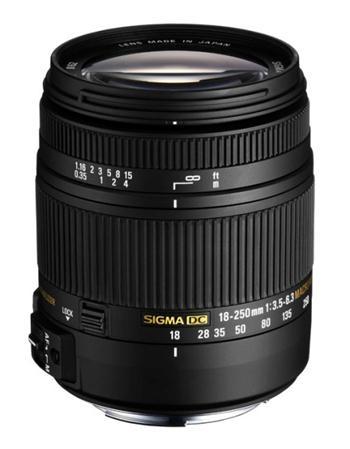 SIGMA 18-250/3.5-6.3 DC MACRO OS HSM s bajonetem Canon - pro D-SLR