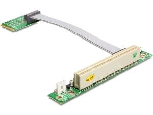 Delock Riser Card Mini PCI Express > PCI 32 Bit / 5 V vkládání vlevo