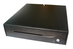 Pokladní zásuvka FEC POS-420 24V, RJ12, pro tiskárny, černá