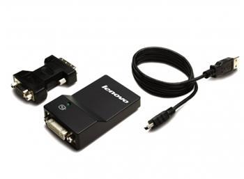 Lenovo kabel redukce USB 3.0 to DVI/VGA Monitor Adapter